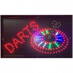 Darts LED Skilt