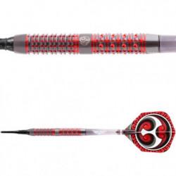 Shot Ronin Yu v.2 Softtip Dartpile 95% 18 gram