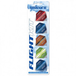 Unicorn 5-pack Core .75 Flightsøt