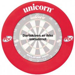 Unicorn PDC Beskyttelsesring (rød)