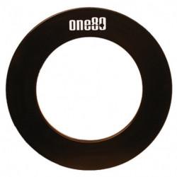 Beskyttelsesring med One80 Logo (sort)