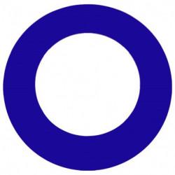Beskyttelsesring (blå)