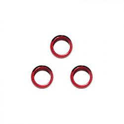 Bulløs Shaft Alu Rings (rød)