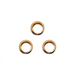 Bulløs Shaft Alu Rings (guld)